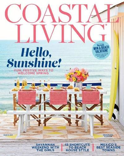 Coastal Living Magazine - Mexico article