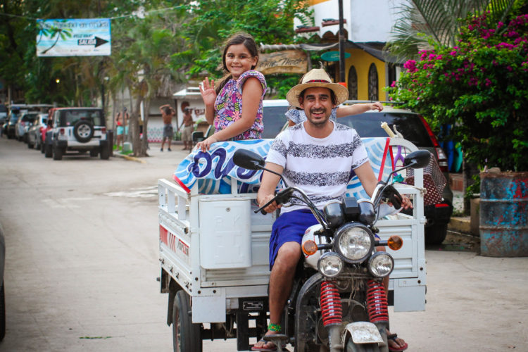 Driving around San Pancho