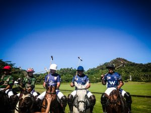 Polo players in San pancho mexico La Patrona Polo club