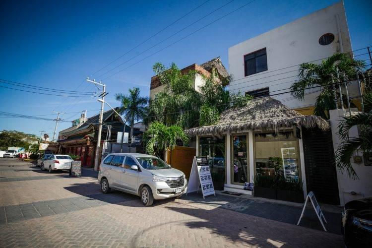 Rosa mexicana beachfront building punta mita real estate
