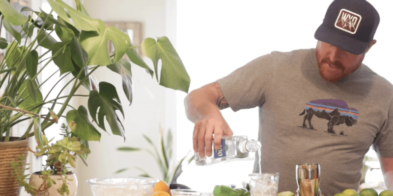 fresh healthy margarita recipe from Mexico